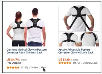 posture corrector aliexpress trend 2019