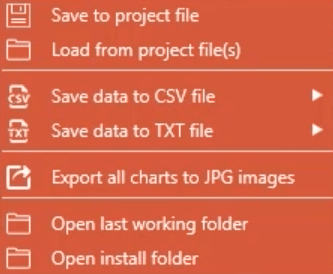 export features