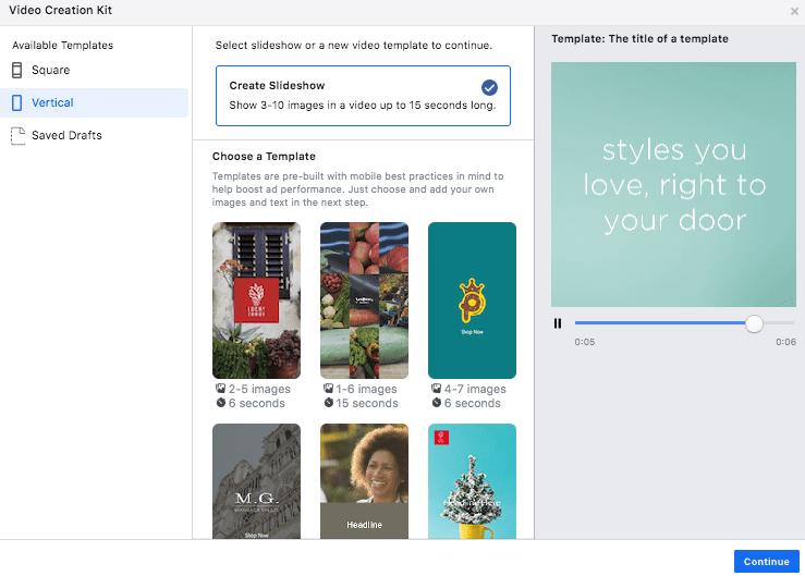 slideshow facebook tool