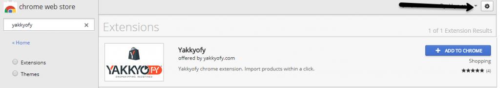 Yakkyofy chrome extension